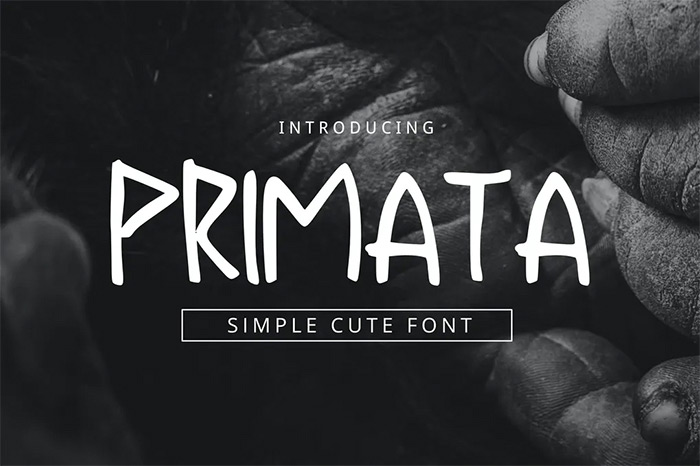 Primata Font - tribal fonts
