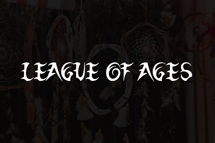 League of Ages Font