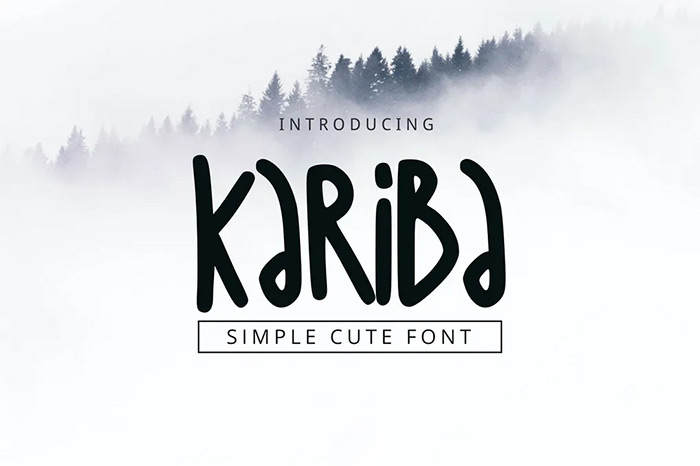 Kariba Font - tribal fonts