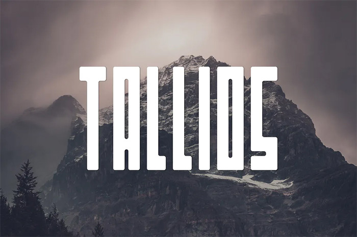 Tallios Font - tribal fonts