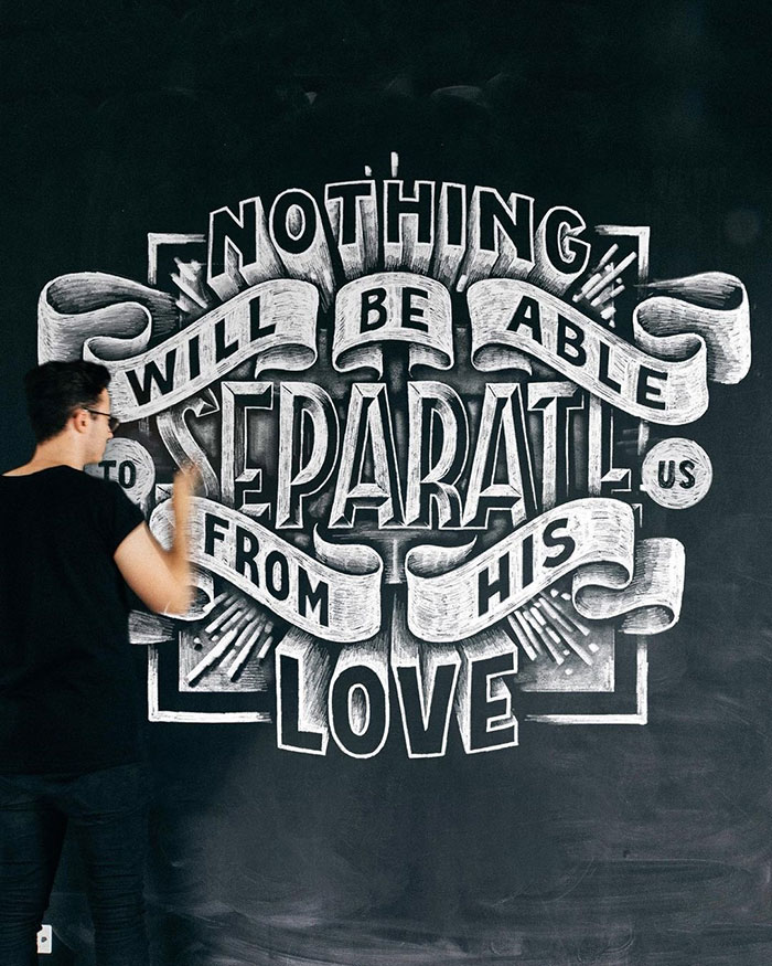Nothing will be able to separate us from His love