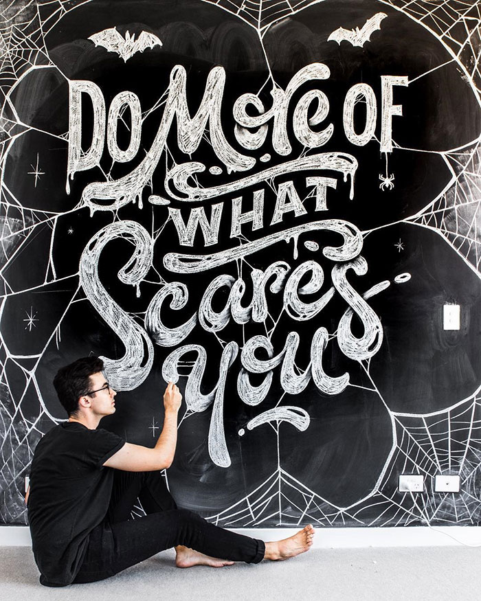 Do more of what scares you