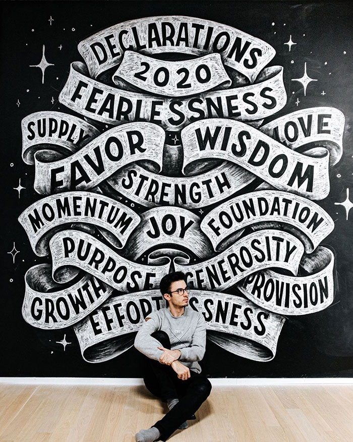 2020 Declarations, Fearlessness, Supply, Foundation, Growth, Purpose...