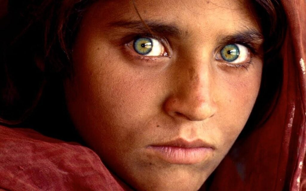 Afghan Girl Photo Color Theory