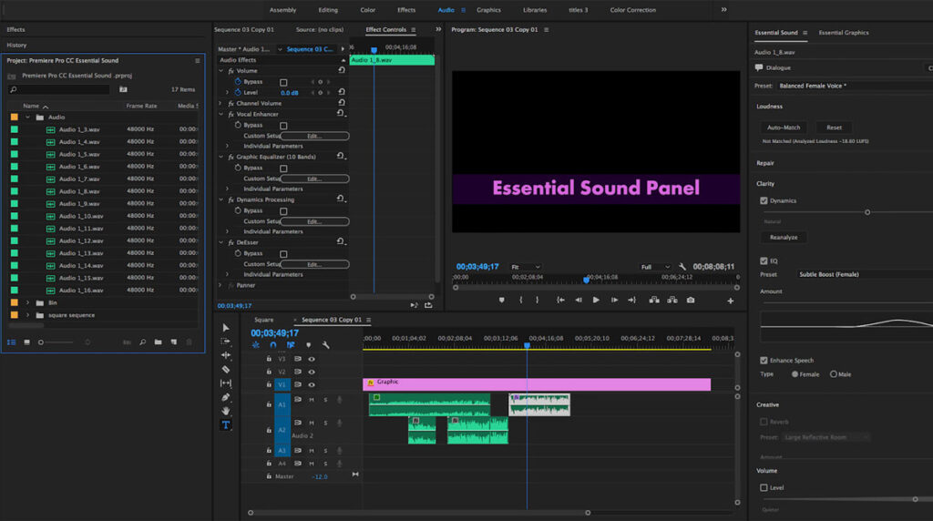 Adding Music To Video Premiere Pro