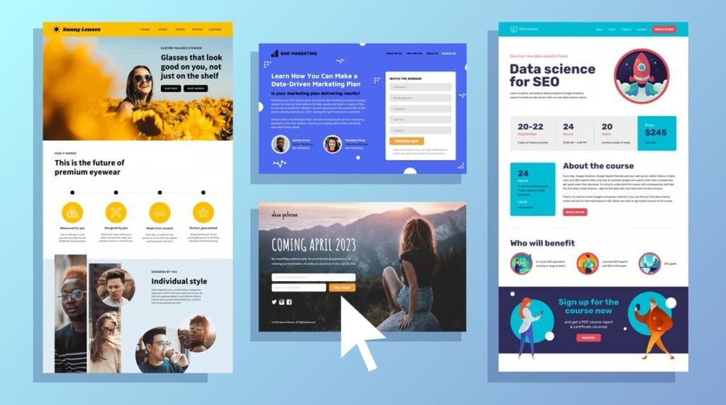 What Is A Landing Page Examples