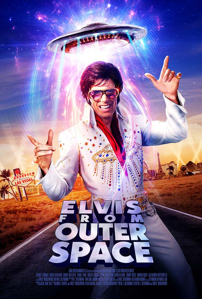 Elvis From Outer Space - movie posters 2020