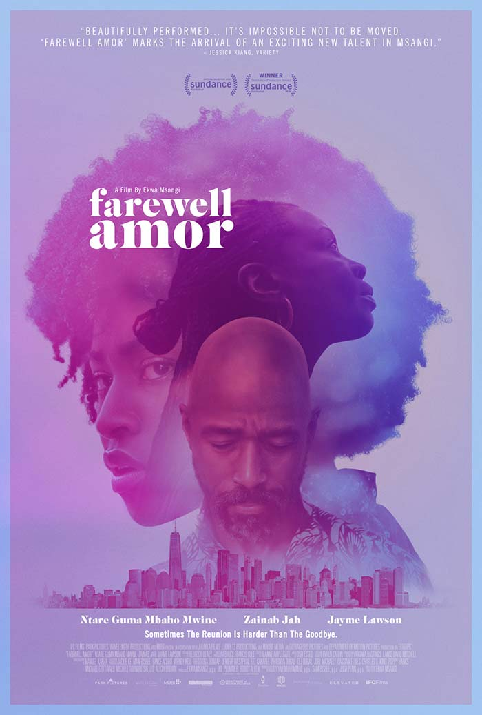 Farewell Amor - movie posters 2020