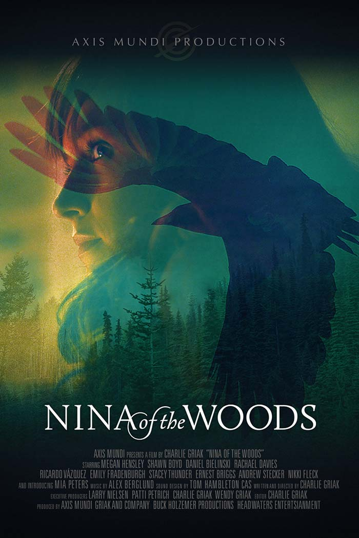 Nina of the Woods - movie posters 2020