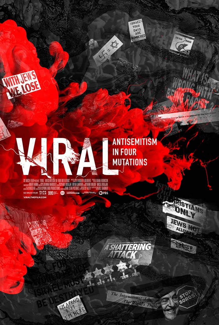 Viral Antisemitism in Four Mutations - movie posters 2020