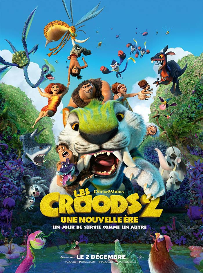 Croods: A New Age - movie posters 2020