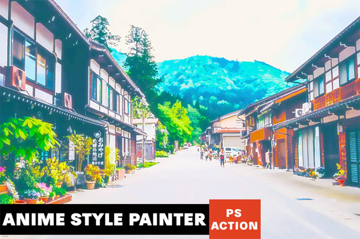 Anime Style Painter