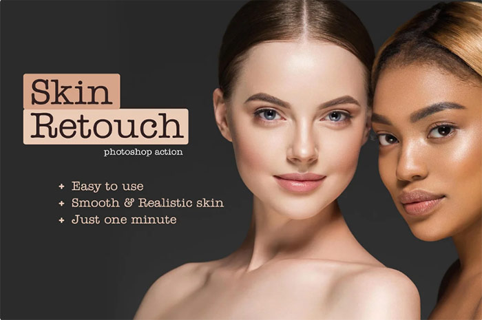 Beauty Skin Retouch PS Action
