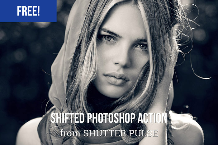 Free Shifted Photoshop Action