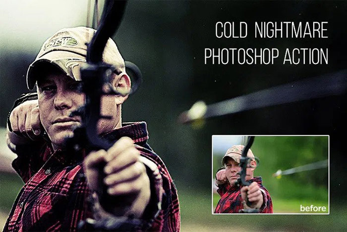 Cold Nightmare : Free Photoshop Action